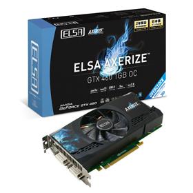 ELSA AXERIZE GTX 460 1GB - 株式会社 エルザ ジャパン