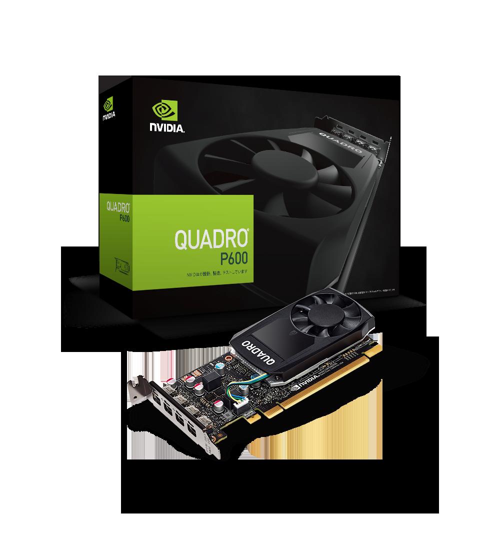 NVIDIA Quadro P600 | 株式会社 エルザ ジャパン