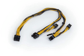 Auxiliary Power Cable 6-8-pin